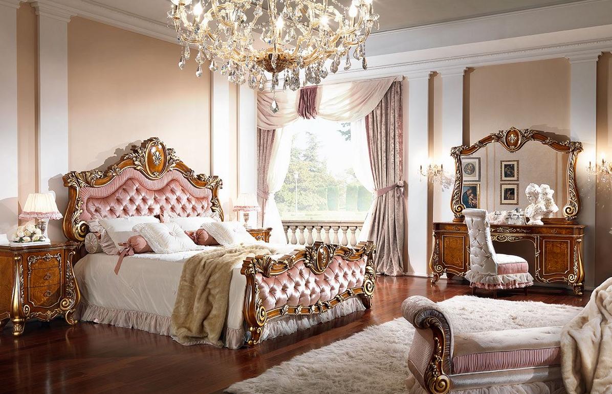 Итальянская спальня FIRENZE FRASSINO +ORO ф-ка BARNINI OSEO