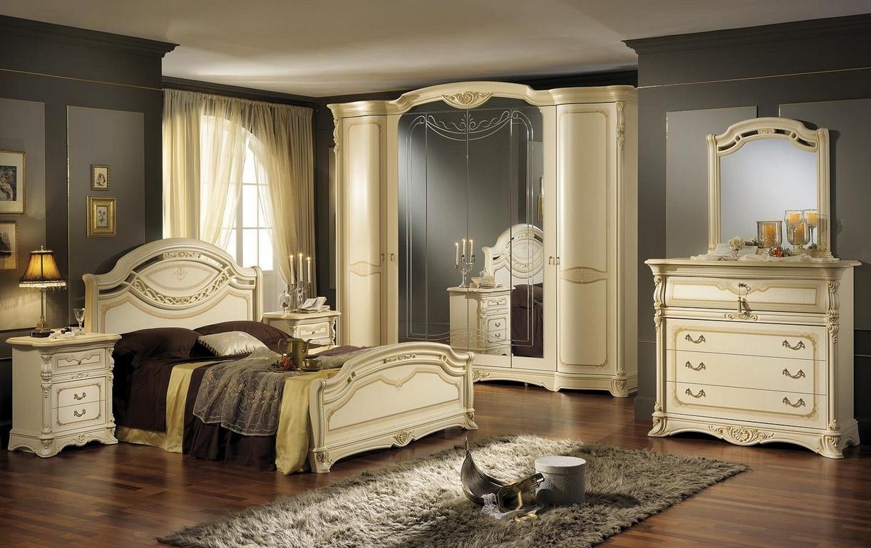 Итальянская спальня REGINA NOCE ф-ка MOBIL PIU